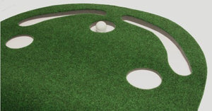 Putt-A-Bout Grassroots Par Three Putting Green (9-feet x 3-feet) - His Perfect Gifts