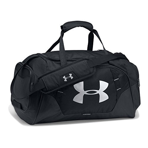 Under Armour Undeniable 3.0 Duffle, Black (001)/Silver, - His Perfect Gifts