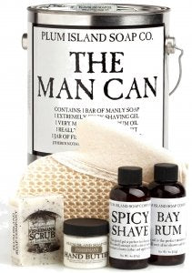 The Man Can All Natural Bath and Body Gift Set for Men - His Perfect Gifts