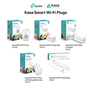 Kasa Smart Plug Outlet by TP-Link - Reliable WiFi Connection, No Hub Required, Works with Alexa Echo & Google Assistant (HS100) - His Perfect Gifts