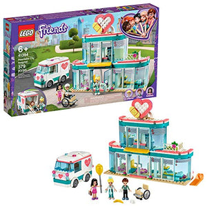 LEGO Friends Heartlake City Hospital 41394 Best Doctor Toy Building Kit, Featuring Friends Character Emma, New 2020 (379 Pieces) - His Perfect Gifts