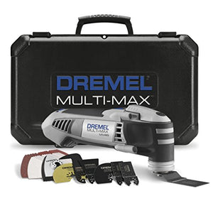 Dremel MM40-05 Multi-Max 3.8-Amp Oscillating Tool Kit with Quick-Lock Accessory Change Interface and 36 Accessories - His Perfect Gifts