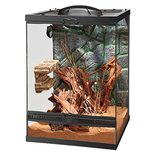 Zilla Vertical Décor for Reptiles, Rock Feeding Ledge - His Perfect Gifts