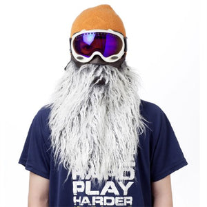 Beardski Harlee Gray Ski Mask, Gray - His Perfect Gifts