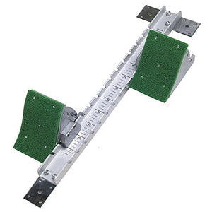 All-Star Track and Field Starting Block - High Grade Aluminum Frame with 4 Position Adjustable Pedals - His Perfect Gifts