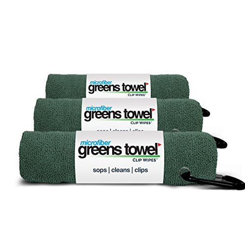 3 Pack of Pine Forest Microfiber Golf Towels - His Perfect Gifts
