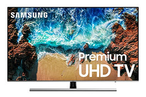 "Samsung UN55NU8000FXZA Flat 55"" 4K UHD 8 Series Smart LED TV (2018) - His Perfect Gifts"