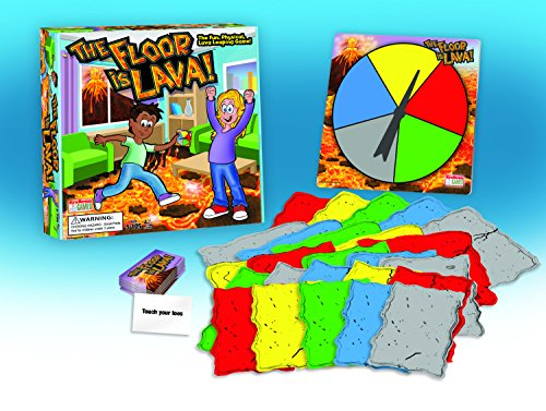 The Floor is Lava - Interactive Game for Kids and Adults - Promotes Physical Activity - Indoor and Outdoor Safe - His Perfect Gifts