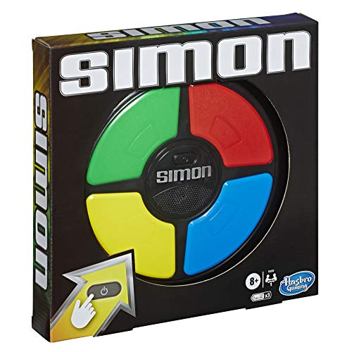 Simon Game; Electronic Memory Game for Kids Ages 8 and Up; Handheld Game with Lights and Sounds; Classic Simon Gameplay - His Perfect Gifts