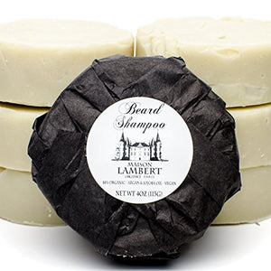 Maison Lambert Beard Shampoo - Beard Shampoo for Men - Beard Shampoo Organic - Beard Shampoo Bar - Beard Soap - Beard Soap Bar - His Perfect Gifts