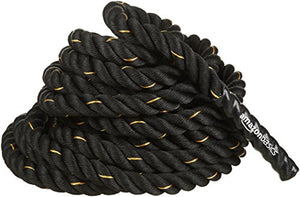 AmazonBasics 1.5in Battle Exercise Training Rope, 30ft - His Perfect Gifts