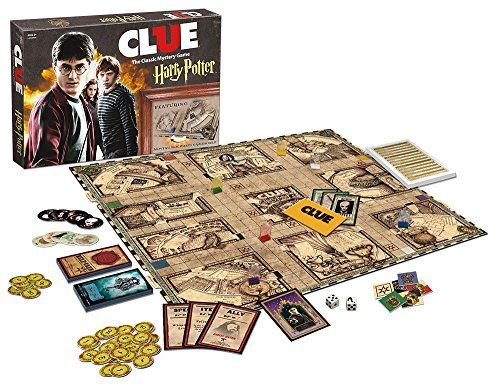 USAopoly Clue Harry Potter Board Game - His Perfect Gifts