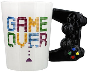 Puckator Game Controller Handle Mug Games Game Over Gaming Mug Console Remote - His Perfect Gifts