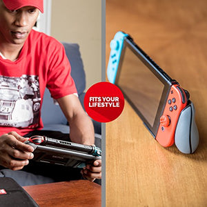 Nintendo Switch GripStand Pack – Gripstand and Cleaning Cloth – Official Nintendo Licensed Product - His Perfect Gifts