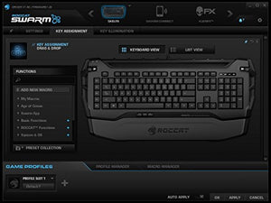 ROCCAT SKELTR Bluetooth Smart Communication RGB Gaming Keyboard, Black - His Perfect Gifts
