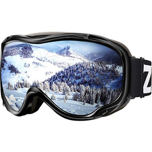 Zionor Lagopus Ski Snowboard Goggles UV Protection Anti-Fog Snow Goggles for Men Women Youth - His Perfect Gifts