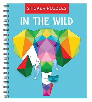 Sticker Puzzles: In the Wild (Brain Games - Sticker by Letter) - His Perfect Gifts