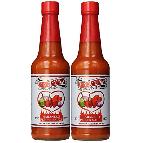 Marie Sharp's Hot Sauce 10 Fl. Oz. (Pack of 2) - His Perfect Gifts