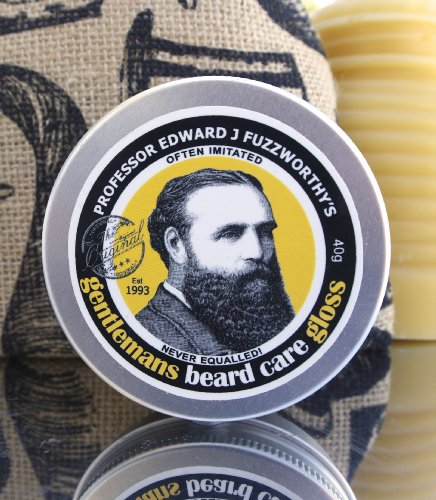 Beard Care Kit Professor Fuzzworthy Beard Care Conditioner Balm & Best Beard Shampoo Bar | 100% Natural Chemical Free | Organic Essential & Kunzea Oils | Leatherwood Honey Made in Tasmania Australia - His Perfect Gifts