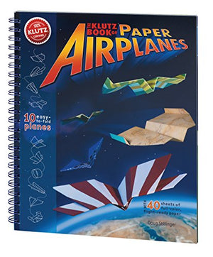 Klutz Book of Paper Airplanes Craft Kit - His Perfect Gifts