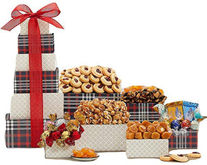 Remarkable Gift Co. Deluxe Sweets and Chocolate Ghirardelli Gift Tower - His Perfect Gifts