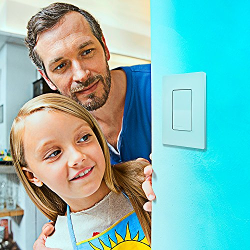Sylvania Smart+ 78060 Bluetooth in-Wall Switch, Works with Apple HomeKit and Siri Voice Control, No Hub Required, 1 Pack - His Perfect Gifts