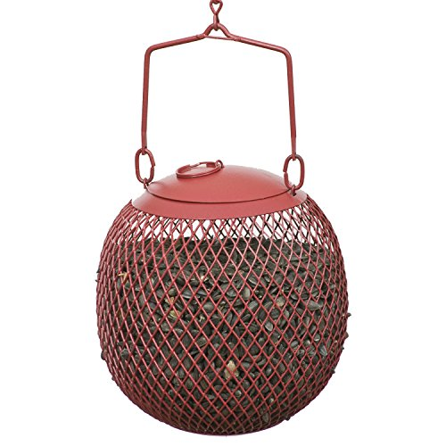 Perky-Pet RSB00343 Red Seed Ball Wild Bird Feeder - His Perfect Gifts