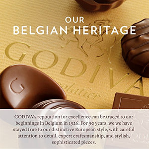 Godiva Chocolatier Classic Gold Ballotin Chocolate, Perfect Hostess Holiday Gift, 19 Count - His Perfect Gifts