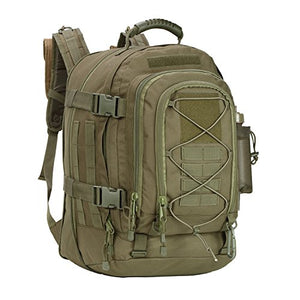 WolfWarriorX Military Tactical Assault Backpack Hiking Bag Extreme Water Resistant 3- Day Rucksack Molle Bug Out Bag for Traveling, Camping, Trekking & Hiking - His Perfect Gifts