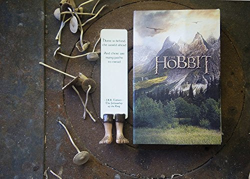 Handmade Hobbit bookmark. Great present for Lord of the rings fan. Book lovers present - His Perfect Gifts