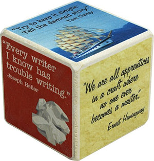 Thought Cubes - Writers' Block - Made in USA - His Perfect Gifts
