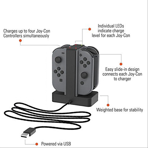 PowerA Nintendo Switch Joy-Con Charging Dock - His Perfect Gifts