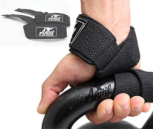 Anvil Fitness Lifting Straps - Weightlifting Hand Bar Wrist Support Hook Wraps, Pair(2), Wrist Supports Assist Grip Strength Weight Lifting Straps for Bodybuilding, Power Lifting - His Perfect Gifts