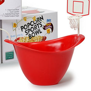 Wabash Valley Farms Popcorn Sports Bowl - His Perfect Gifts