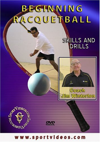 Beginning Racquetball: Skills and Drills DVD featuring Coach Jim Winterton - His Perfect Gifts