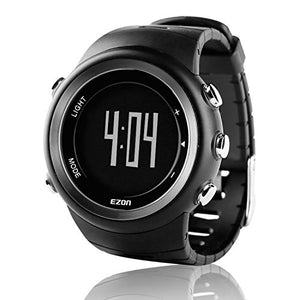 EZON Outdoor Sports Watch with Pedometer Calorie Counter Running Big Number Digital Wristwatch for Men and Women T023 - His Perfect Gifts