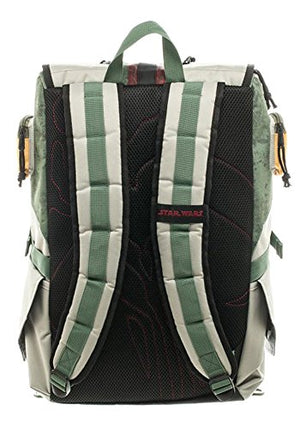 Star Wars Boba Fett Mandalorian Suit Up Laptop Backpack - His Perfect Gifts
