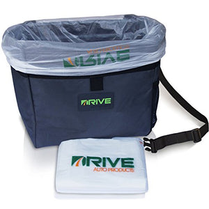 Car Garbage Can by Drive Auto Products from The Drive Bin As Seen On TV Collection, Black Strap - His Perfect Gifts