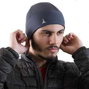 French Fitness Revolution Helmet Liner Skull Cap Beanie. Ultimate Thermal Retention and Performance Moisture Wicking. Fits Under Helmets - His Perfect Gifts