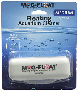 Gulfstream Tropical AGU125MED Mag-Float Glass Aquarium Cleaner, Medium - His Perfect Gifts
