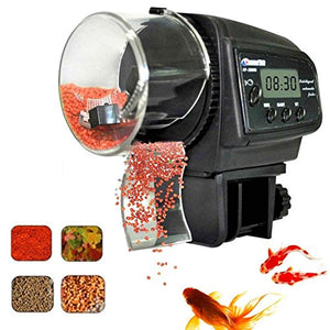 Fish Feeder, Automatic Fish Feeder, eBoTrade Aquarium Tank Auto Fish Food Timer Batteries Included 800EB - His Perfect Gifts