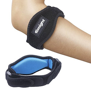 Tomight [2 Pack] Elbow Brace, Tennis Elbow Brace with Compression Pad - His Perfect Gifts