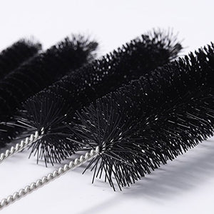 SLSON Aquarium Filter Brush Set Fish Tank Tube Brushes 10 Pcs Different Sizes Bristles Hose Pipe Ornaments Cleaner Water Pump Impeller Cleaning Brush for Aquariums Accessories or Home Kitchen,8 inch - His Perfect Gifts