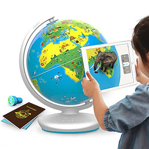 Shifu Orboot (App Based): Augmented Reality Interactive Globe For Kids, Stem Toy For Boys & Girls Ages 4+ Educational Toy Gift (No Borders, No Names On Globe) - His Perfect Gifts