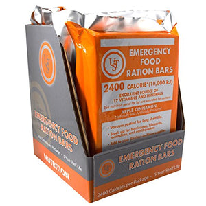 UST Emergency Food Ration Bars (PDQ 4-ct) - His Perfect Gifts