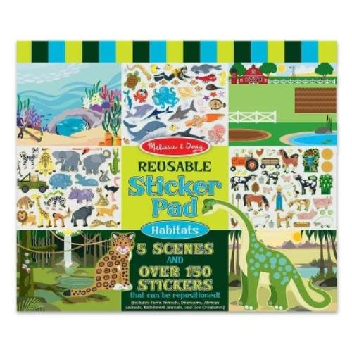 Reusable Sticker Pad - Habitats - His Perfect Gifts
