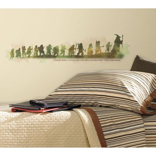 RoomMates RMK2161SCS The Hobbit Quote Peel and Stick Wall Decals - His Perfect Gifts