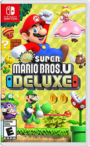 New Super Mario Bros. U Deluxe - Nintendo Switch - His Perfect Gifts