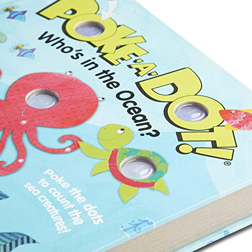 Melissa & Doug Children's Book - Poke-A-Dot: Who's in The Ocean (Board Book with Buttons To Pop) - His Perfect Gifts