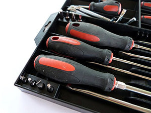 Tool Sorter Screwdriver Organizer Black - His Perfect Gifts